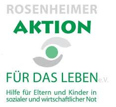 Logo-Rosenheimer Aktion für das Leben - Partne der jungen arbeit rosenheim - Kachel